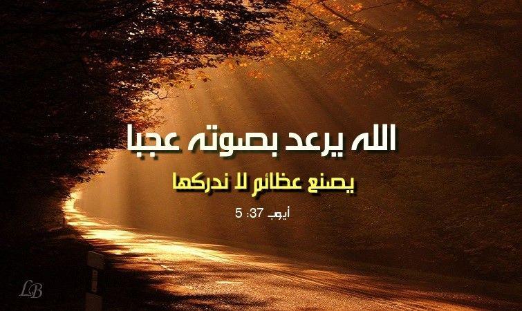آيات عن الخلق Creation من الكتاب المقدس عربي إنجليزي