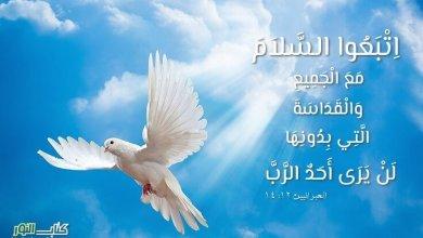 Photo of آيات عن البركة والسلام ( 5 ) Peace – عربي إنجليزي