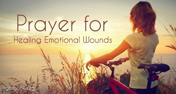 Prayer for Healing Emotional Wounds - Touch Me I Pray with Your Love - Music and Lyrics