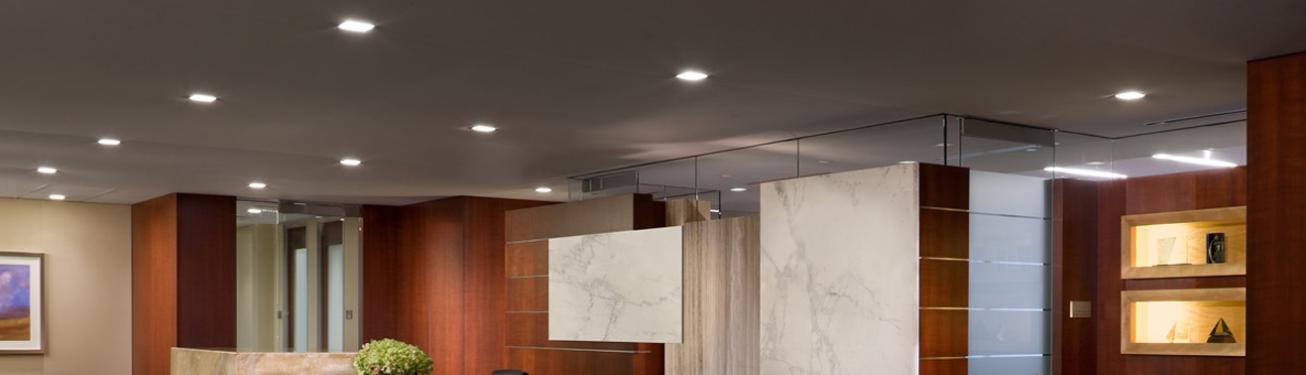 use recessed lights vs ceiling lights