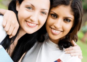 Two female friends