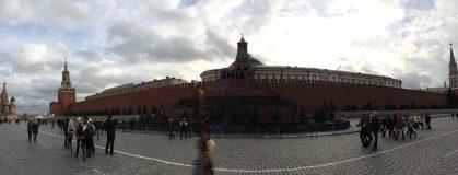 Il mausoleo di Lenin - Red Square - Wide angle