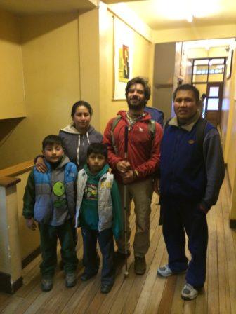 4 - Bolivia - La Paz - Joe, Jennie, kids & me