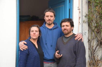 Santiago del Cile - 10 - Jorge, Maya e Juan Pablo