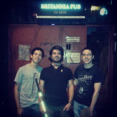 Asuncion - 3 - Ariel, me & Daniel