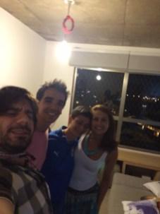 San Paolo - 1 - Me, Marcelo, Chiara & Camila