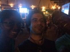 Paramaribo - 2 - Mirela, me & Steven