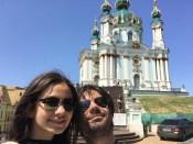 Kiev - 9 - Olga & me