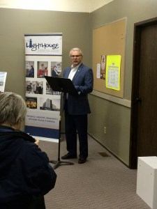 MP Gerry Ritz brings greetings on behalf of the federal government