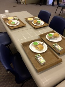 Meals are a key part of the service the Lighthouse provides.