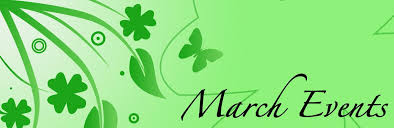 March Events clip art