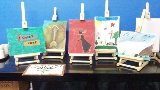 Art classes at The Lighthouse Supported Living