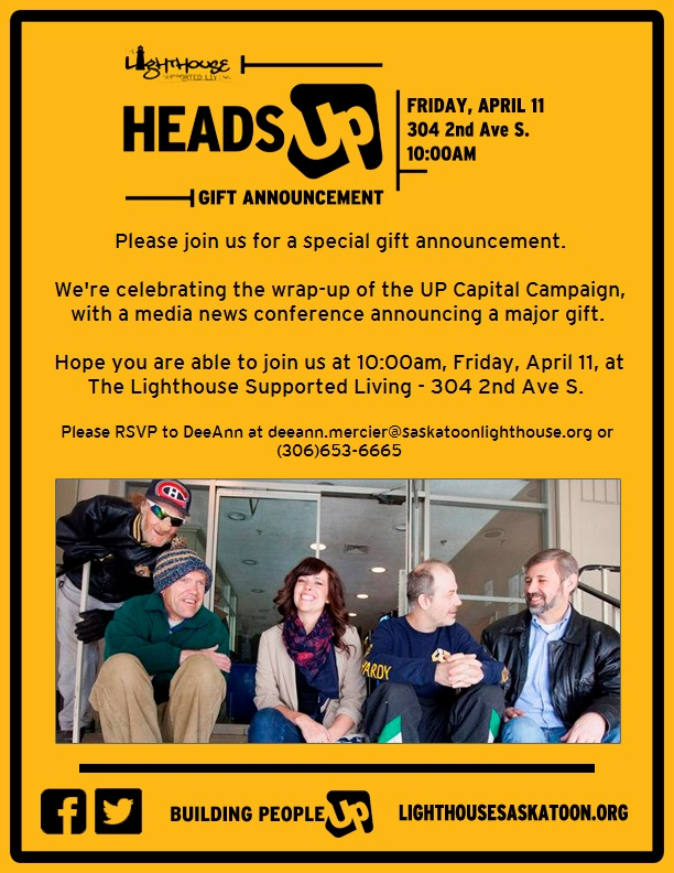 LightHouse Press Conference Invite