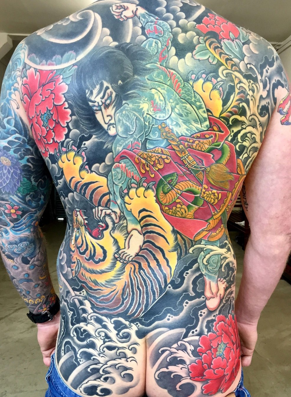 Alex Rusty Japanese Tattoo Specialist In Sydney