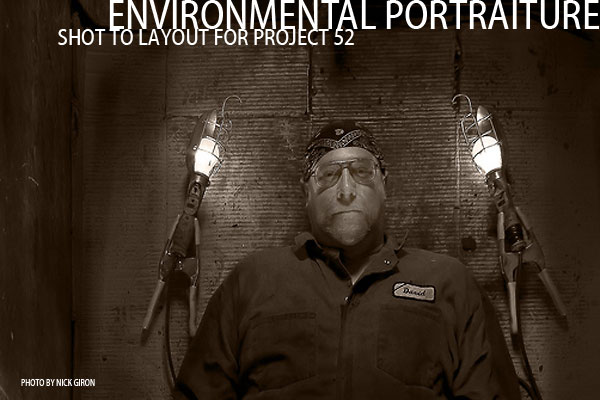 Environmental Portrait Lighting