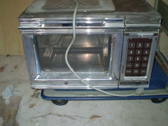 amana radarange microwave oven