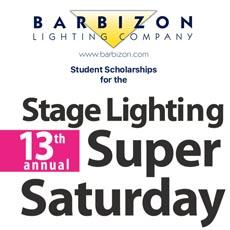 barbizon lighting company sponsors scholarships for stage lighting super saturday lighting sound america online news