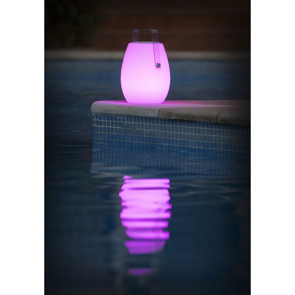 barrell portable outdoor bluetooth speaker light colour changing with remote