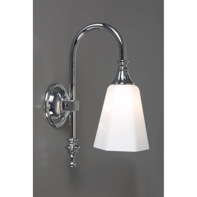 bath classic traditional chrome bathroom wall light