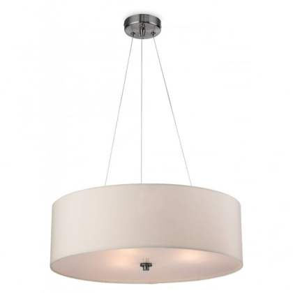 Contemporary Cream Ceiling Pendant with Glass Diffuser PHOENIX contemporary cream ceiling pendant light with diffuser