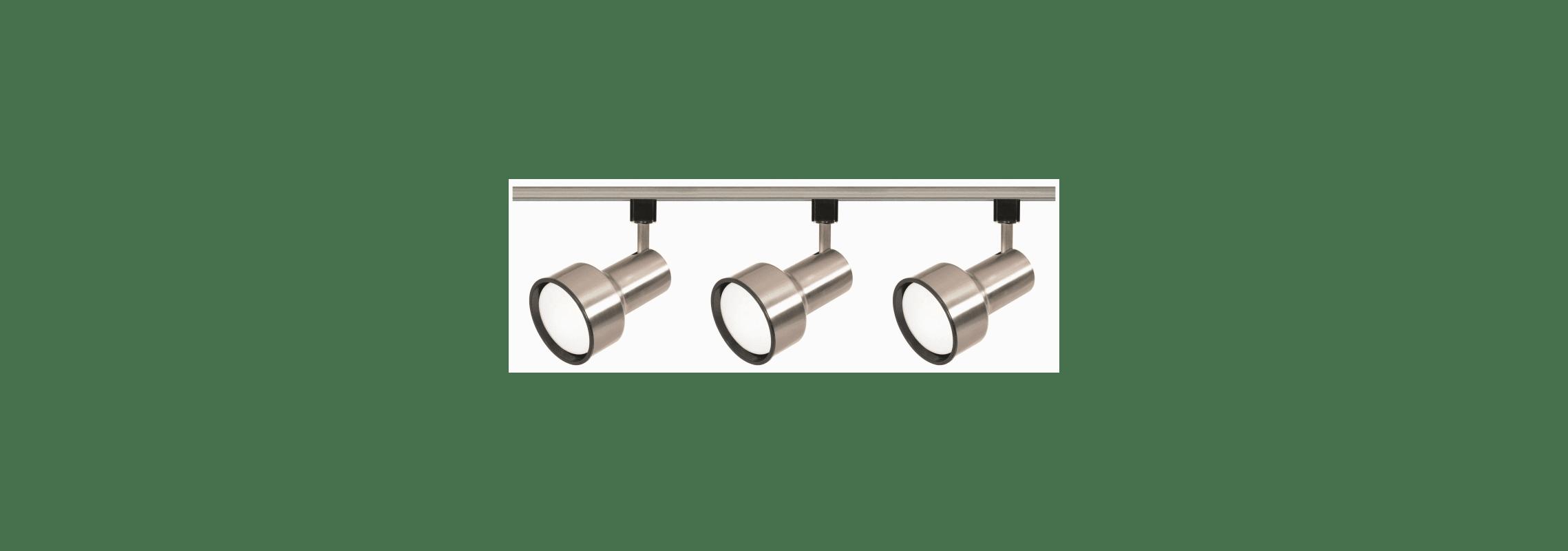 Nuvo Lighting Tk340 Brushed Nickel Three Light R30 Step