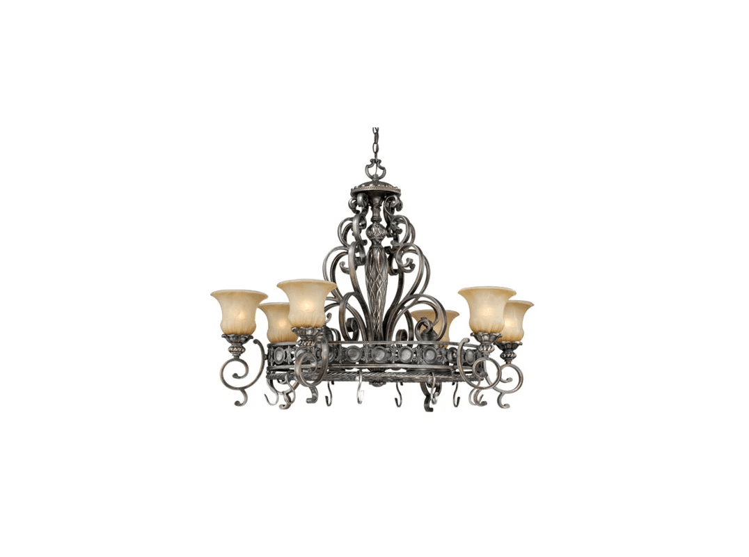 Vaxcel Lighting Bg Pdb420pz Parisian Bronze Bellagio 8