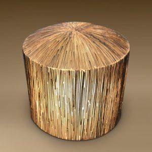 Cocostick Lamination Stool Lamp Outdoor Light Decor