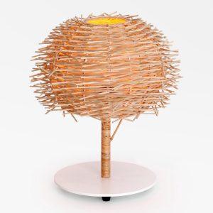 Rakai Table Lamp - Natural Rattan Lamp on