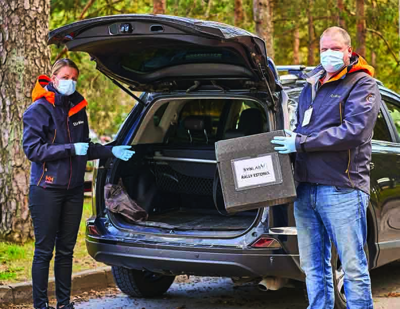 Strikken Helps Deliver Covid 19 Tests And Lights The Sky In Estonia Pg 9