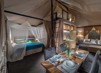 Perfect Lighting Mood Offered For Camping Tents