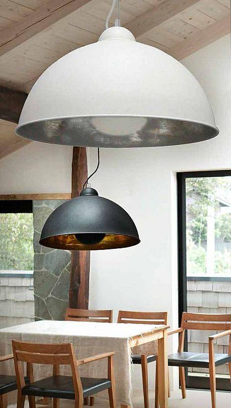 Large Metal Dome Pendant Dia 530mm