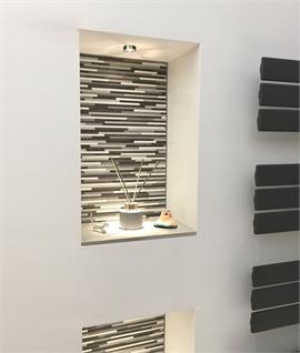 bathroom niche lights lighting styles