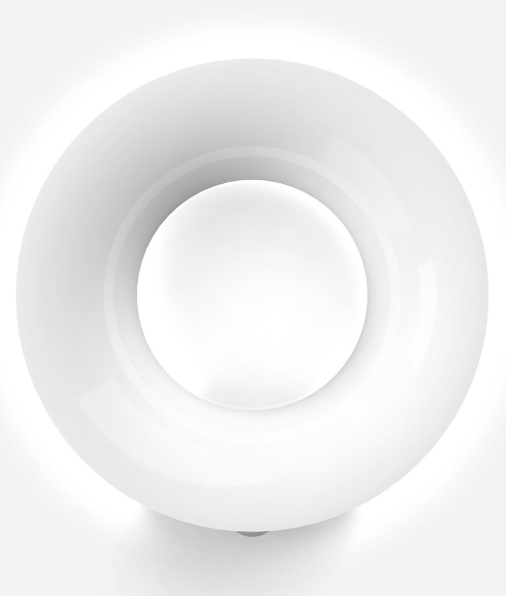 Interior Led Round Wall Light With Dimmer Dial