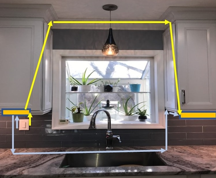 how to install under cabinet lighting