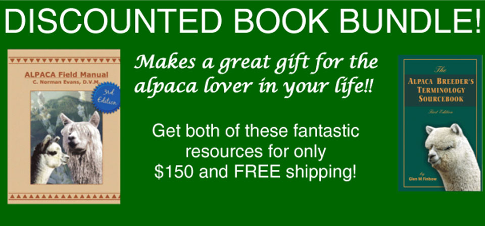 Alpaca book bundle special