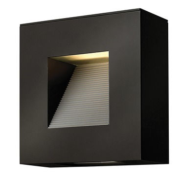 luna rounded outdoor wall sconce