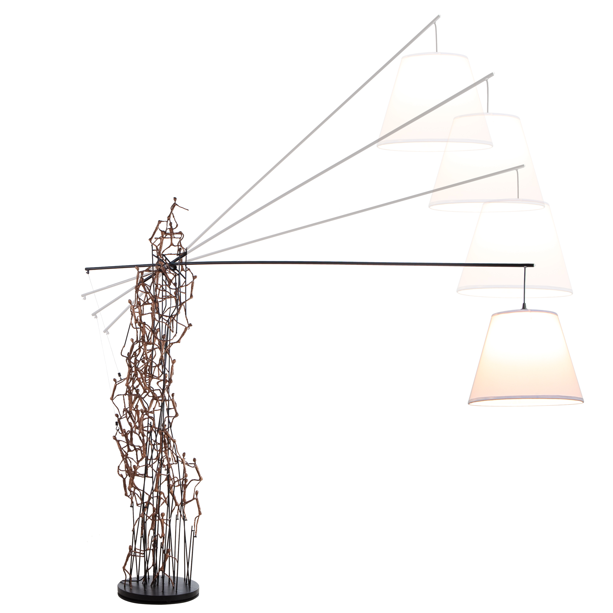 Little People Boomtown Floor Lamp By Hive