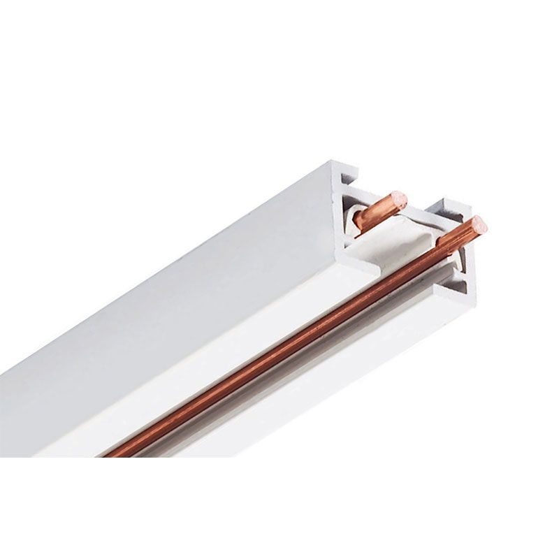 trac 12 25 miniature low voltage track by juno lighting tlvr2ftwh