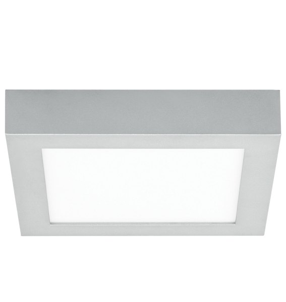 Tenur Square Ceiling Light Fixture by LBL Lighting   FM927OYSILED930