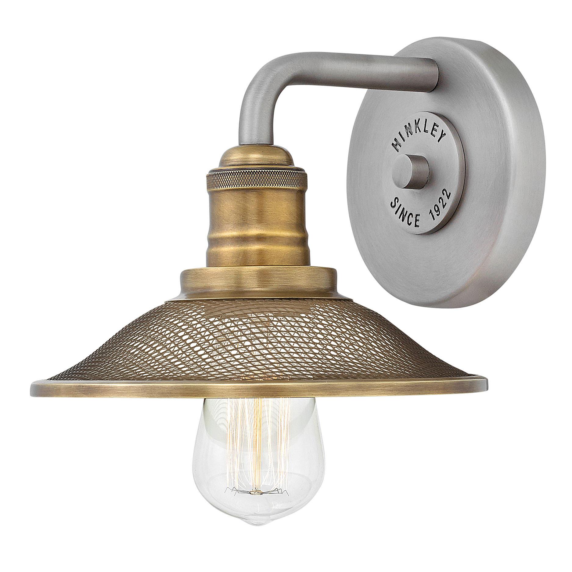 rigby bathroom vanity light by hinkley lighting 5290an