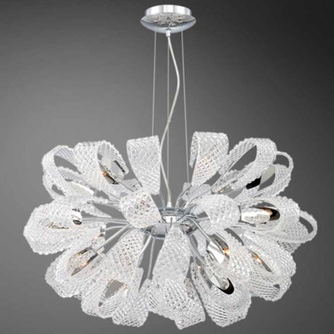 Origami 21 Light Chandelier By Eurofase 22951 014