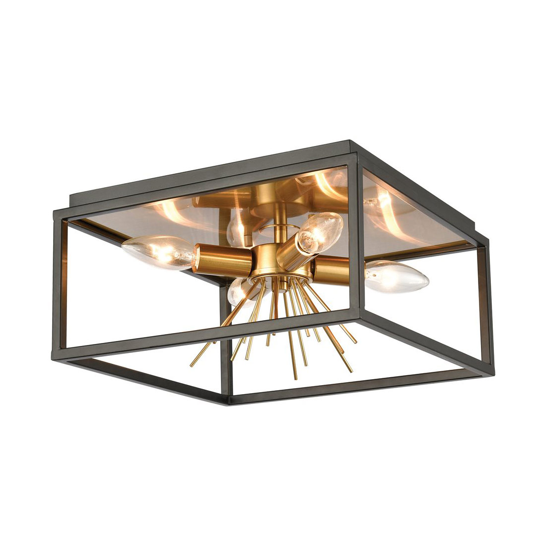 spark ceiling light fixture by elk lighting 46364 4