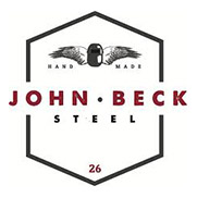 john beck steel contemporary lighting