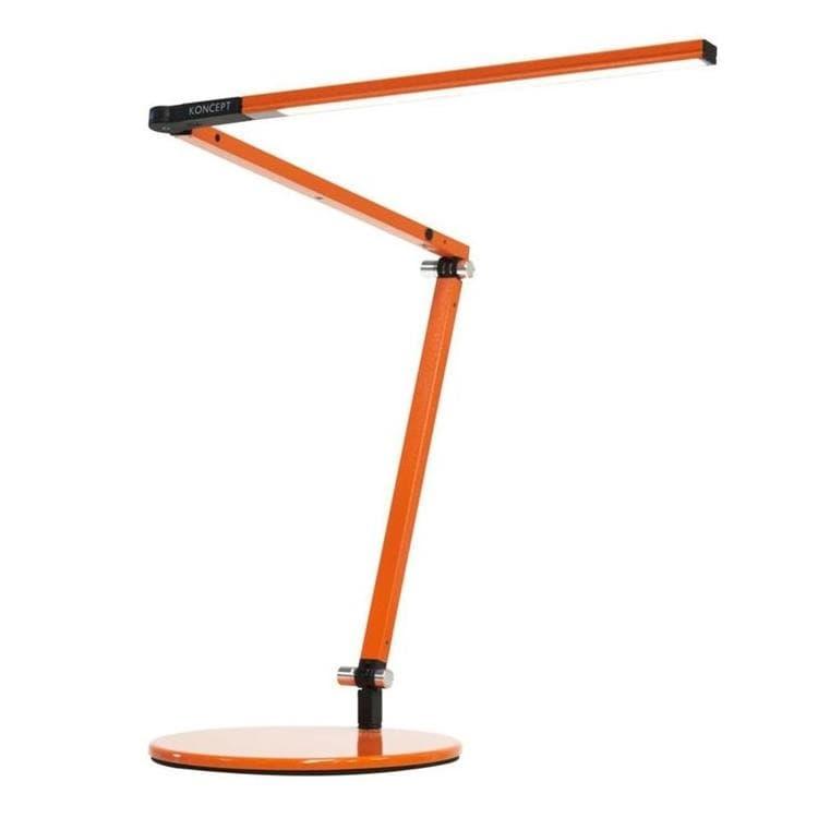 z bar mini orange lampe de bureau led h36cm
