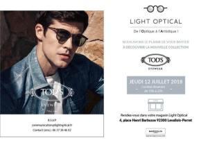 Evénement Tod's by Light Optical