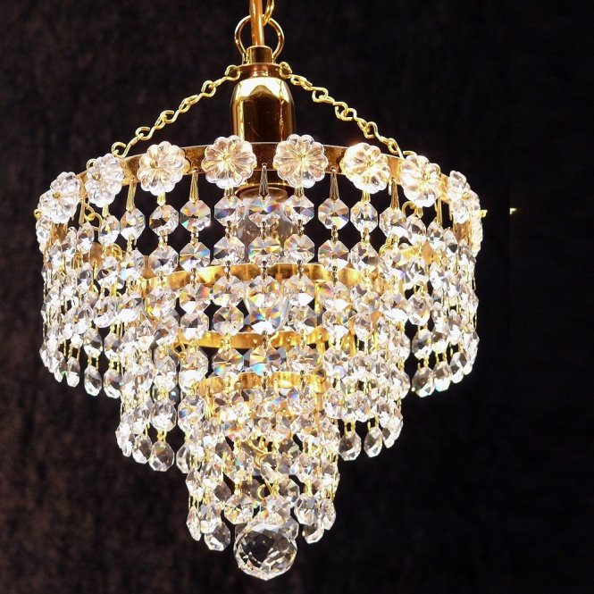 Fantastic Lighting 3 Tier Chandelier Kp 8 1 With Crystal Strands Ceiling Light