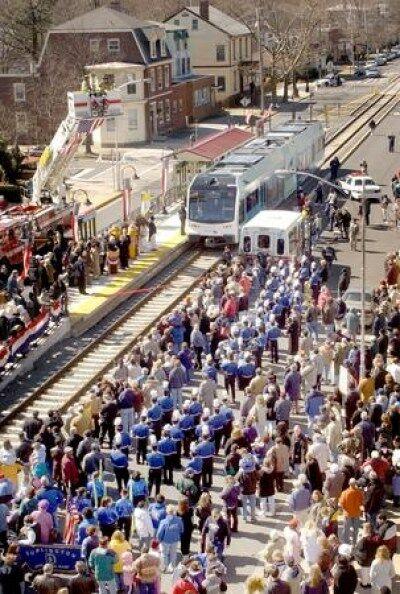 Camden Trenton River Line Light Railway Gains Riders