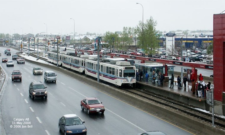 Photo: 'Light Rail Now' group