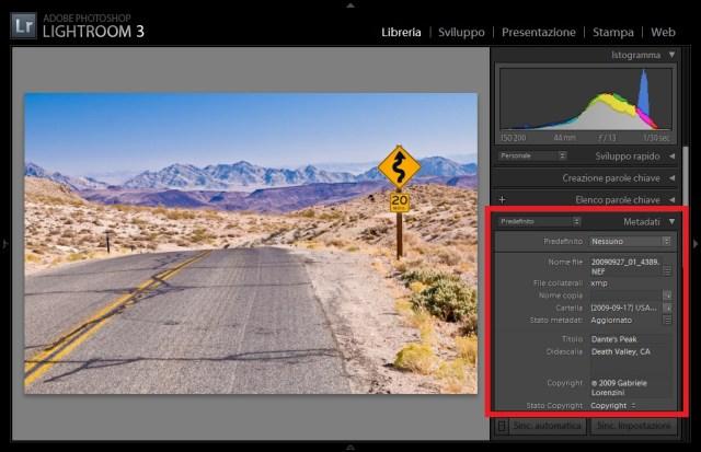 06 lightroom geotag geotagging mappa maps google gps metadati