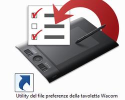 Eseguire il Backup e il Ripristino della configurazione della tavoletta Wacom Intuos4 (5/5)